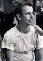 Con Browne- black and white photo