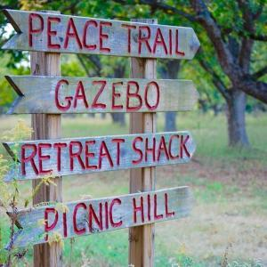 Peace Trail Sign