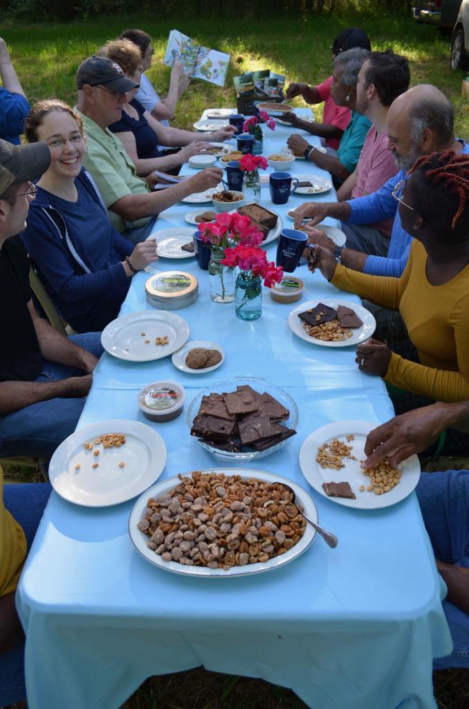 Koinonia Folks Eating a Picnic