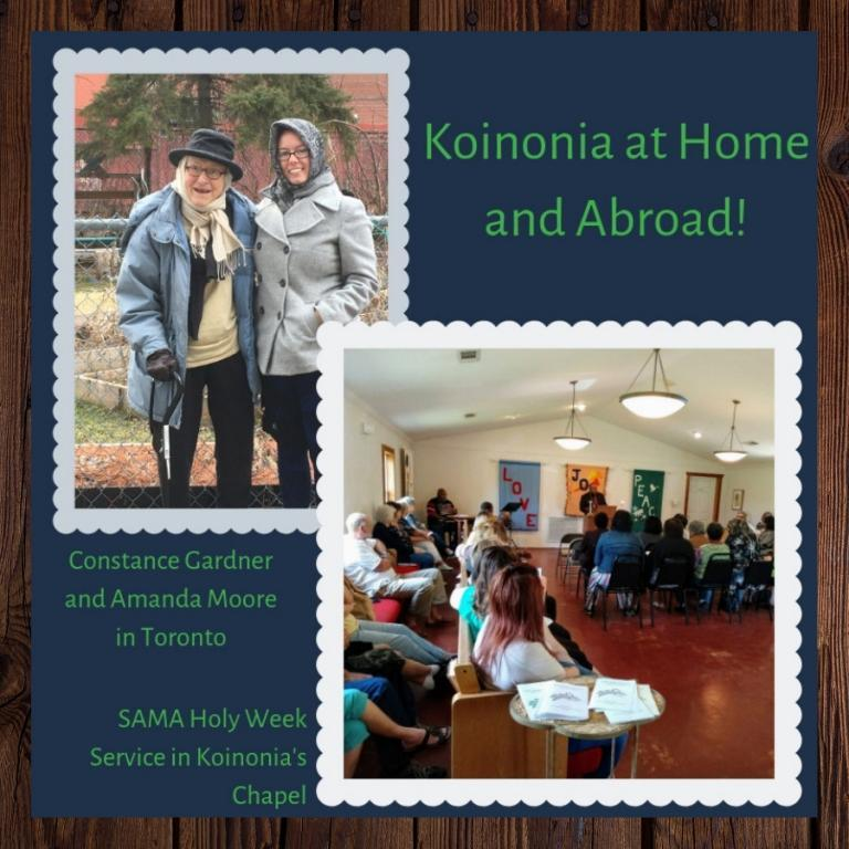 Koinonia at Home and Abroad