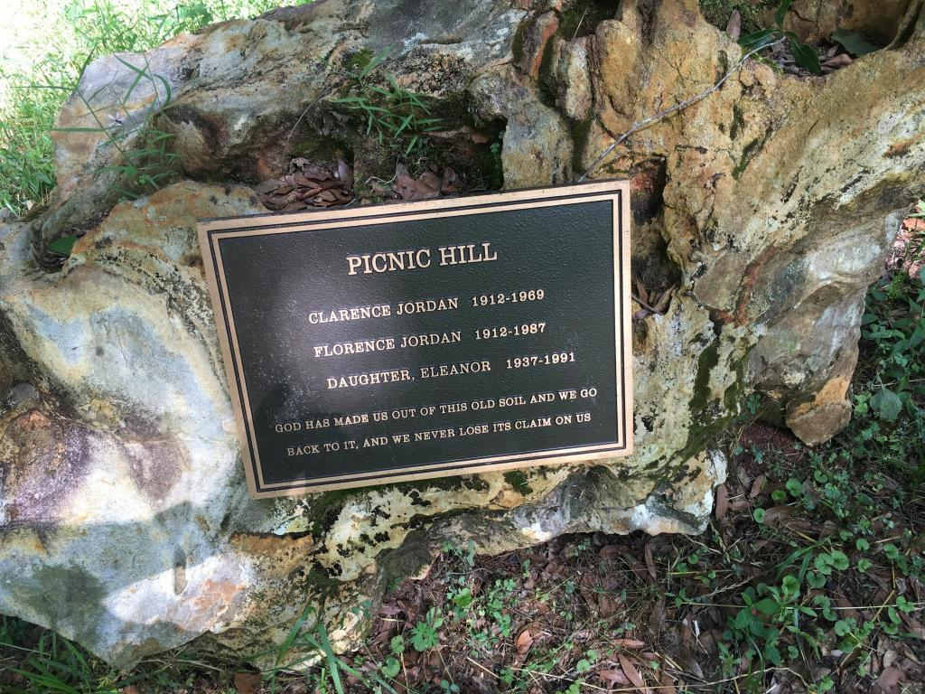 Jordan's Gravestone at Picnic Hill
