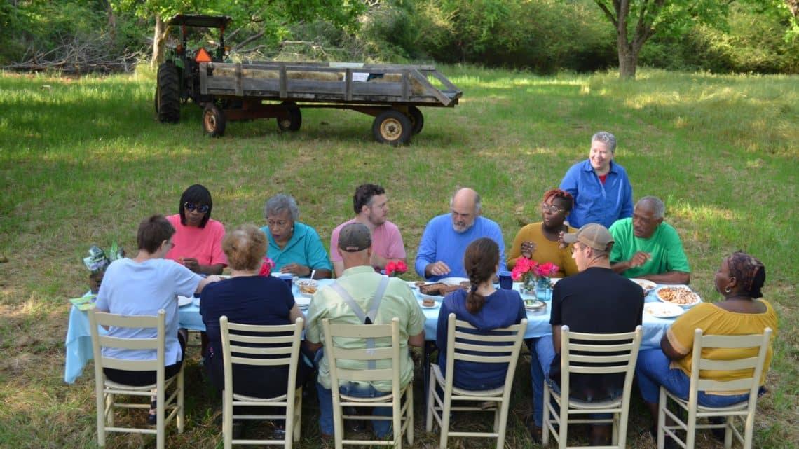Koinonia Folks having a picnic
