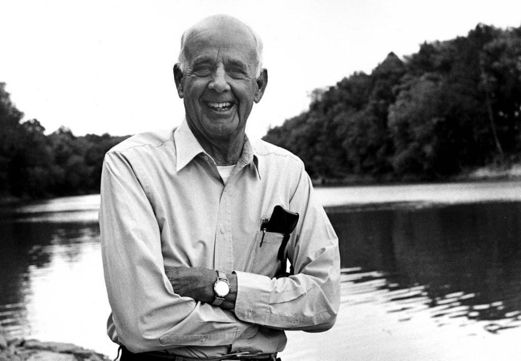 Wendell Berry black and white photo
