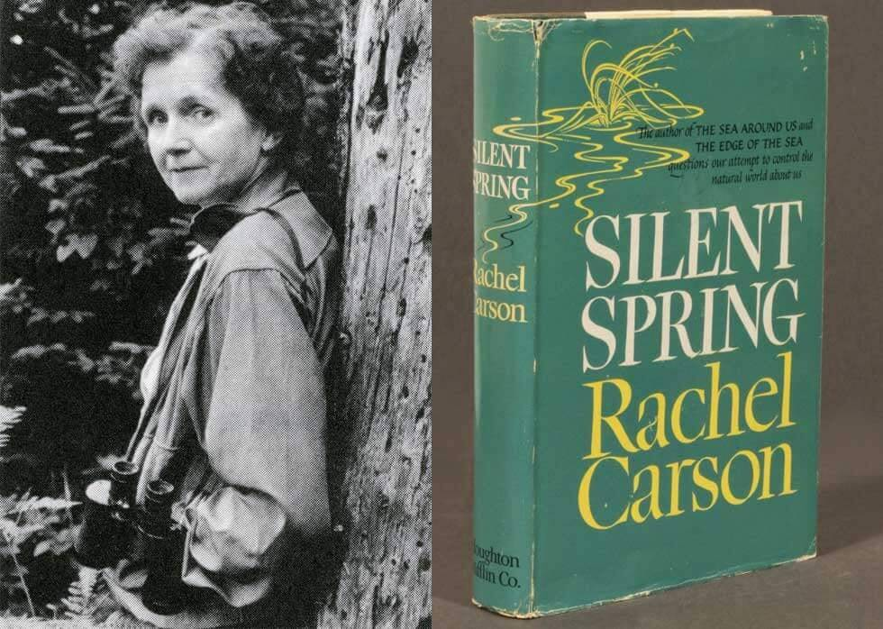 Rachel Carson and Silent Spring Book Cover