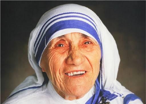 Mother Teresa portrait