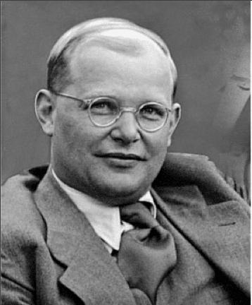 Bonhoeffer Black and White Photo