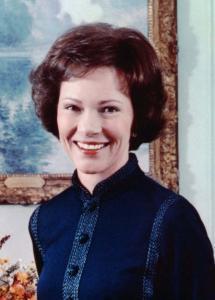 Rosalynn Carter color portrait