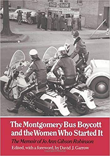Jo Ann Robinson's memoir front cover